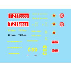 H0-T211.0503 ČSD 70.-80.léta