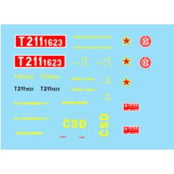 T211.1623 ČSD 70.-80.léta