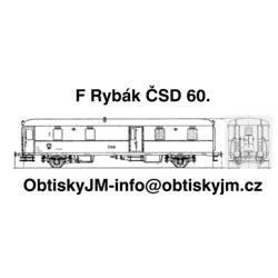 F Rybák ČSD 60.léta Dom.st....