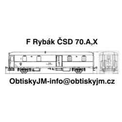 F Rybák ČSD 1/2 70.let...