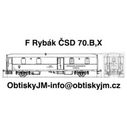 F Rybák ČSD 2/2 70.let...