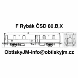 Postaa/F Rybák ČSD 2/2...