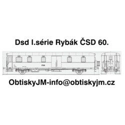 Dsd I.série Rybák ČSD...