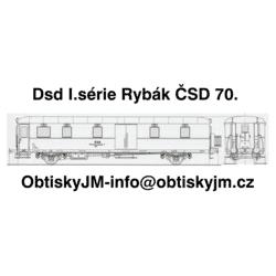 Daad I.série Rybák ČSD...