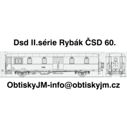 Dsd II.série Rybák ČSD...
