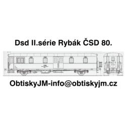 Daad II.série Rybák ČSD...