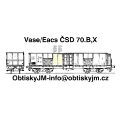 Eas/Vase ČSD 70.léta B,B