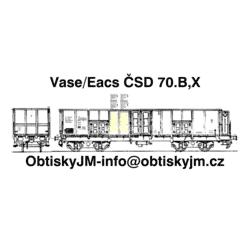 Eas/Vase ČSD 70.léta B,D