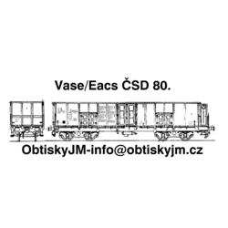 Eacs/Vase ČSD 80.léta D