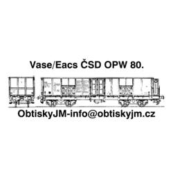 Eacs/Vase ČSD OPW 80.léta D