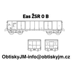 """H0-Eas ŽSR B, podvozek """"s..."""