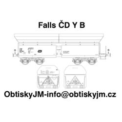 H0-Falls ČD B, podvozek Y