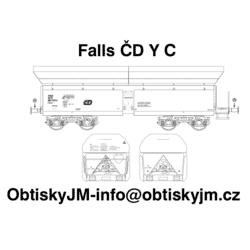 H0-Falls ČD C, podvozek Y