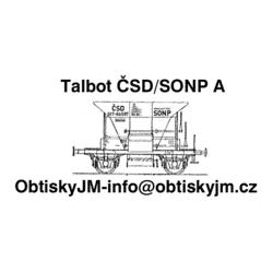 H0-Talbot ČSD/SONP A