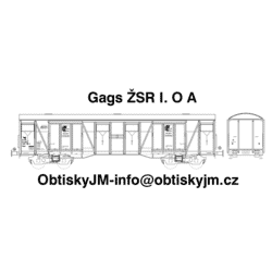 H0-Gags ŽSR I. serie A