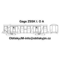 H0-Gags ZSSKC I. serie A