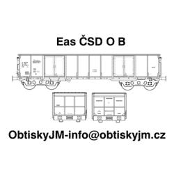 "H0-Eas ČSD B, podvozek ""s..."