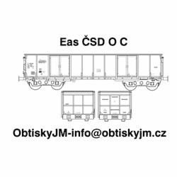 """H0-Eas ČSD C, podvozek """"s..."""