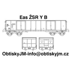 H0-Eas ŽSR B, podvozek Y