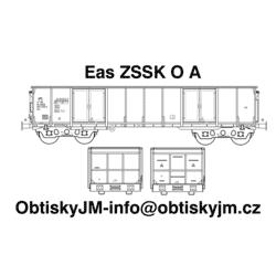 "H0-Eas ZSSK A, podvozek ""s..."