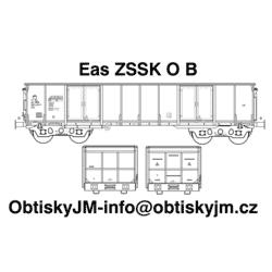 """H0-Eas ZSSK B, podvozek """"s..."""