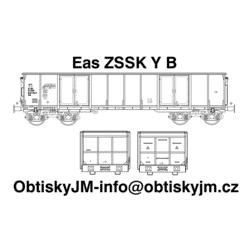 H0-Eas ZSSK B, podvozek Y
