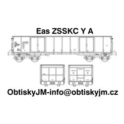 H0-Eas ZSSKC A, podvozek Y