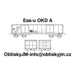 H0-Eas-u OKD A, podvozek Y