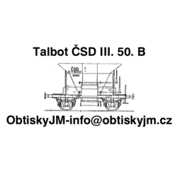 H0-Talbot ČSD III. epocha...