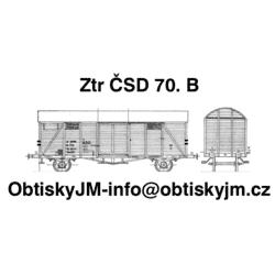 H0-Ztr ČSD IV. epocha...