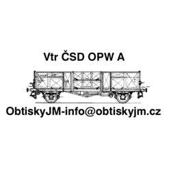 H0-Vtr/E ČSD OPW IV. epocha A