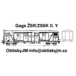 H0-Gags ŽSR/ZSSK II. série A