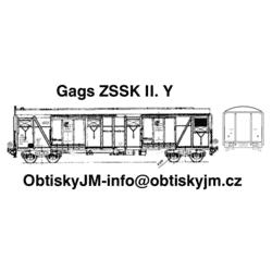 H0-Gags ZSSK II. série A