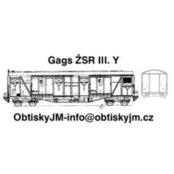 H0-Gags ŽSR III. série A