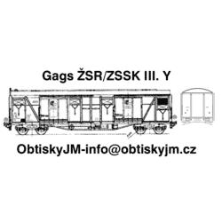 H0-Gags ŽSR/ZSSK III. série A