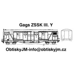 H0-Gags ZSSK III. série A
