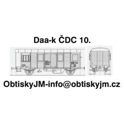 H0-Da-k ČDC 10.léta B
