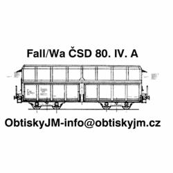 H0-Fall/Wa ČSD 80.léta...
