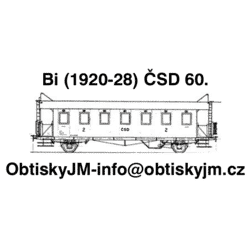 Bi ČSD 60.léta Dom.st.Plzeň...