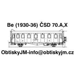 TT-Be ČSD 1.pol. 70.let...