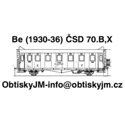 TT-Be ČSD 2.pol. 70.let...