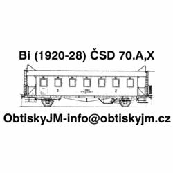 TT-Bi ČSD 1.pol. 70.let...