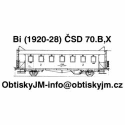 TT-Bi ČSD 2.pol. 70.let...